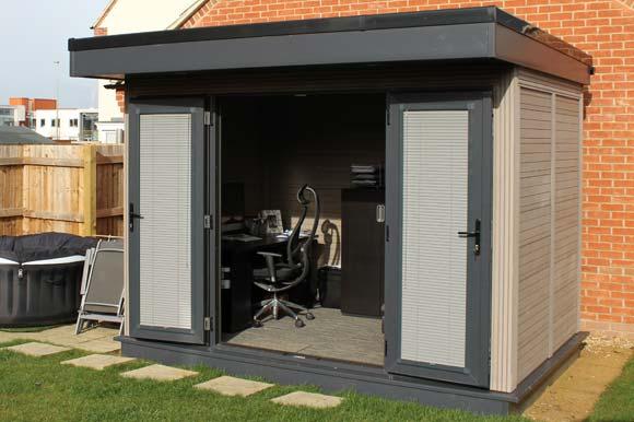 Composite Garden Offices Milton Keynes