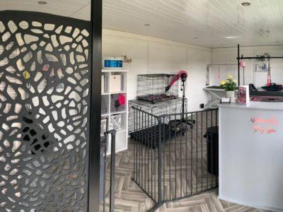 Milton Keynes Garden Room Dog Groomer Finishing Inside Piece