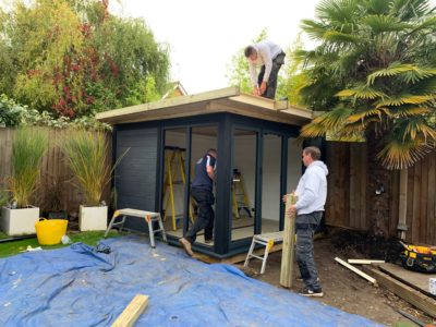 Garden Room In Milton Keynes, Nearing Completion Copy Copy